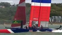 Les Australiens vainqueurs de la quatrième régate du Sail GP