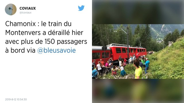 Haute-Savoie : Le petit train du Montenvers, dans le massif du Mont-Blanc fermé après un «déraillement»