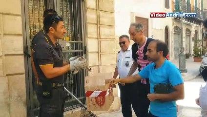 Andria: Polizia Locale e Vigili del Fuoco salvano falco in difficoltà grazie alla sinergia con i cittadini