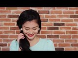 Verniece Enciso Teaches How To Create A Braided Side Ponytail
