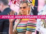 Joyeux 27 ème anniversaire à Cara - qui a déjà tout