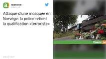 Fusillade dans une mosquée en Norvège : La qualification d'« acte terroriste » retenue par la police
