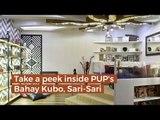 Take a peek inside PUP's  Bahay Kubo, Sari-Sari