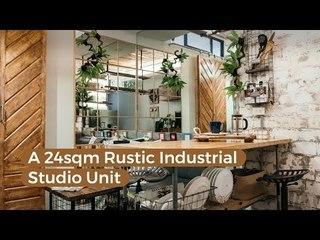 A 24sqm Rustic Industrial Studio Unit