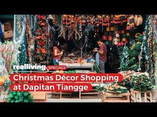 Christmas Decor Shopping at Dapitan Tiangge