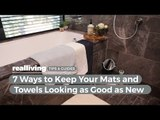 7 Ways to Keep Your Bath Mats and Towels Looking as Good as New