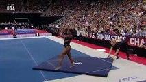 ABD'li jimnastikçi Simone Biles tarihe geçti