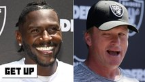 Jon Gruden supports Antonio Brown's helmet grievance - Get Up