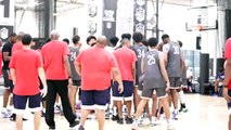 Josh Christopher, Emoni Bates, and Greg Brown Show Out at Nike Basketball Academy - Day 3 Highlights