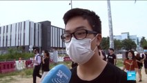 """We want absolute justice in Hong Kong,"" says protester"