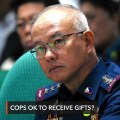 PNP rejects Duterte gift remark: We're bound by law
