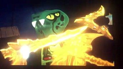 Ninjago: Interrogando a una serpiente
