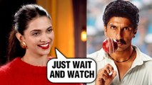 Deepika Padukone Talks About Her Look As Ranveer Singh's Wife In Film 83