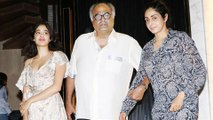 Sridevi's LAST Birthday Dinner With Janhvi Kapoor, Boney Kapoor, Khushi Kapoor | THROWBACK