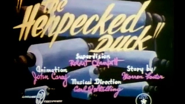 The Henpecked Duck (1941)