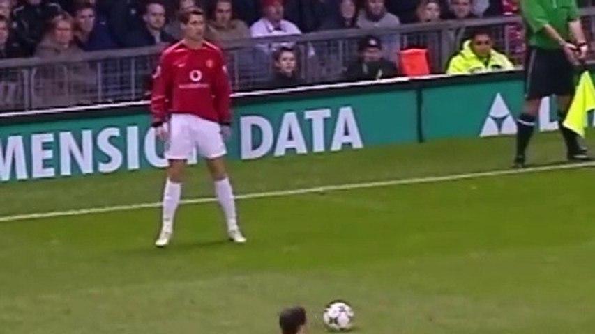 Le premier but surpuissant de Cristiano Ronaldo avec Manchester United