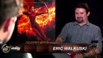 Jennifer Lawrence, Josh Hutcherson & Liam Hemsworth Exclusive INTERVIEW   HG Mockingjay Part 2