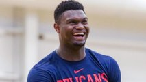 Zion Williamson Responds To HATERS Who Said He Was Looking FAT!