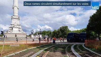 Début des essais de la ligne D du tram