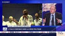 L'Italie s'enfonce dans la crise politique - 12/08