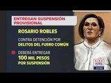 ¿Cuánto tendrá que pagar Rosario Robles para no ser detenida? | Noticias con Ciro Gómez Leyva