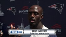 Devin McCourty On Patriots' Wide Receivers, Tight Ends