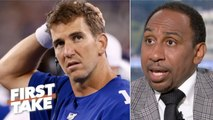 It's too early for a Giants QB competition – Stephen A. _ First Take