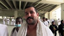 Peregrinos lapidan simbólicamente a Satán en La Meca