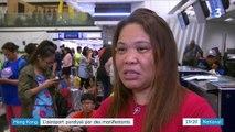 Hong Kong: l'aéroport occupé pour protester contre les violences policières.