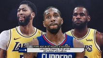 2019-20 NBA Season - Schedule Unveiled