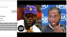 Lakers vs. Clippers headlines NBA 2019-20 opening night schedule _ The Jump