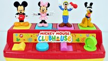 DISNEY MICKEY MOUSE CLUBHOUSE Pop Up Toys Surprises Learn Colors For Kids Canal KidsToyShow