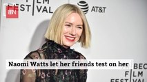 Naomi Watts Tries All The Beauty Products