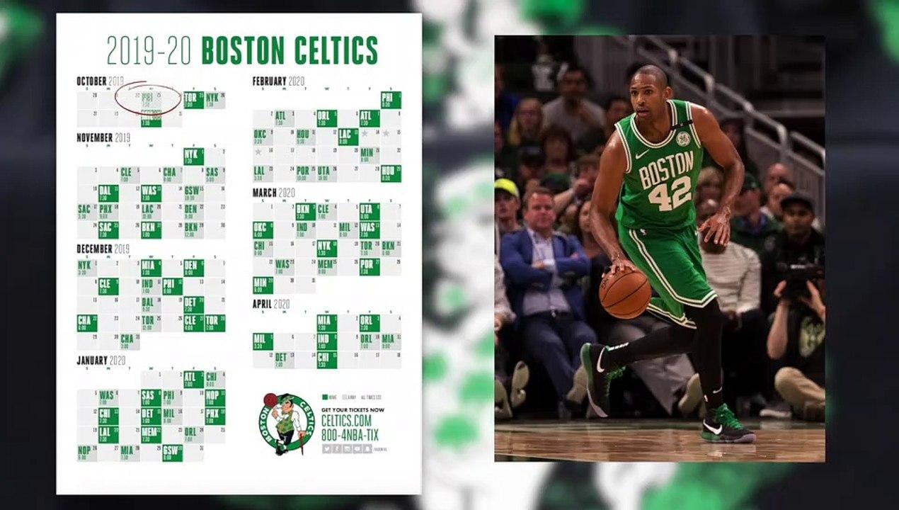 Toonami Schedule 2020 Celtics 2019 2020 Schedule Is Out