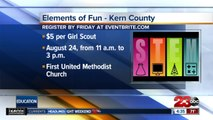 Girl Scouts of Central California South holding STEM event