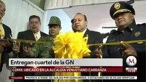 Entregan cuartel de la Guardia Nacional en Venustiano Carranza