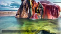Stunning Technicolor Geyser in Nevada Formed Out of Human Error