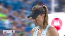 Sharapova cruises on Cincy return