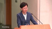 Hong Kong's Lam: Government, Police Are Capable of Resolving Crisis