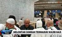 Haji 2019 - Jemaah Haji Khusus Maktour Melontar Jumrah