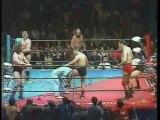 Giant Baba/Jumbo Tsuruta/Masa Fuchi vs Bruiser Brody/Killer Brooks/Klaus Wallas (All Japan February 23rd, 1985)