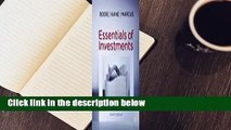 Best product  Essentials of Investments - Zvi Bodie