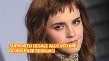 Emma Watson lancia per #Metoo un servizio di assistenza legale