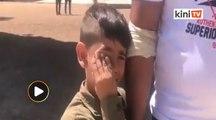 Trauma kanak-kanak Palestin pada Hari Raya