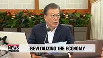 President Moon calls on Cabinet to revitalize economy