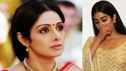 Jhanvi Kapoor CRIES for mother Sridevi on her birthday; Check Out | FilmiBeat