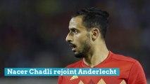 Nacer Chadli rejoint Anderlecht, il arrive de Monaco en prêt
