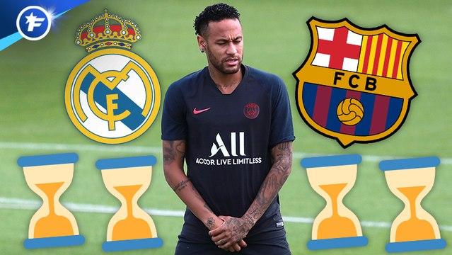 Les hésitations de Neymar agacent sérieusement les Catalans