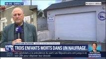 """Maire d'Agaon-Coutainville: """"Tous les drapeaux seront en berne.  """" après le naufrage qui a coûté la vie à trois enfants"""