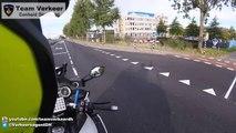Escorte d'une ambulance : ce motard fonce à travers les rues des Pays-Bas !